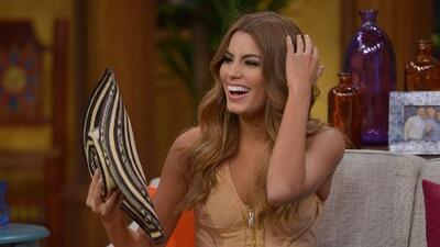 ¡Ariadna Gutiérrez, Miss Colombia, llegó feliz a Despierta América! Y ahí la coronaron también