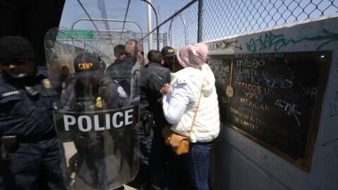 La política migratoria de Trump no concede privilegios a nadie en la frontera con México