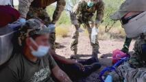 Muestran los peligros a los que se enfrentan los inmigrantes que cruzan la frontera por el desierto