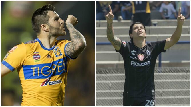André-Pierre Gignac y Víctor Dávila comparten el liderato de la tabla de goleo de la Liga MX