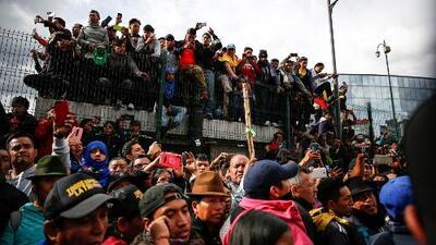Continúan las protestas en Ecuador: así se vivió el octavo día de manifestaciones en ese país