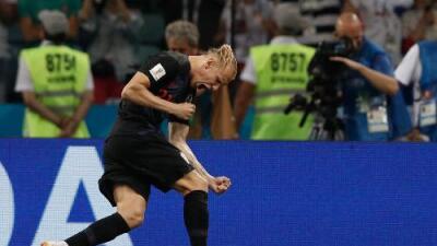 La FIFA advierte a jugador de Croacia por manifestaciones políticas a favor de Ucrania