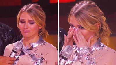 El momento en que Irina Baeva rompió en llanto en Mira Quién Baila ante las críticas