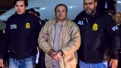 Revelan imágenes del traslado de 'El Chapo' del Altiplano a una cárcel de Ciudad Juárez para evitar una nueva fuga