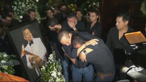 Lágrimas y dolor en el último adiós de Aldo Sarabia