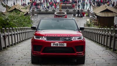Range Rover Sport conquista la 'Puerta del Cielo'