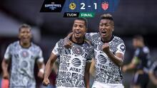 América es intratable en el Azteca y derrota 2-1 a Necaxa con gol de Gio