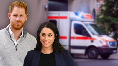 Falsa alarma: una ambulancia vista afuera de la casa de Meghan y Harry no fue para atender el nacimiento de su bebé