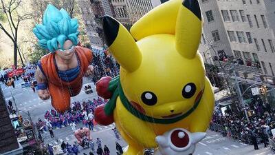 Así fue el tradicional desfile de Acción de Gracias de Macy's en Nueva York