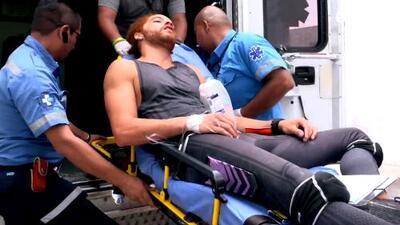 Esta es la impactante caída que llevó a Jefferson Kellerman al hospital y que puso en riesgo su permanencia en la competencia