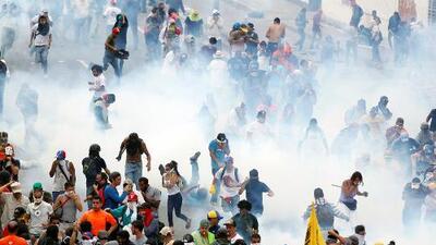 """Represión a opositores en Venezuela alcanzó """"niveles inéditos"""" en 2017, según Human Rights Watch"""