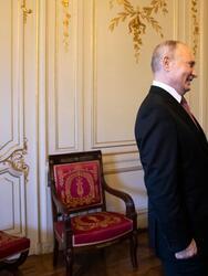 Biden y Putin antes de empezar su jornada de reuniones en Ginebra, Suiza, el 16 de junio de 2021.