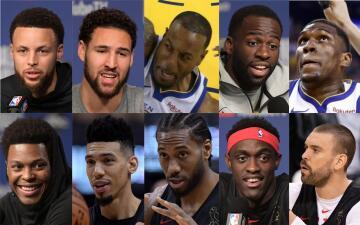 Warriors vs. Raptors: frente a frente ¿quién es mejor?