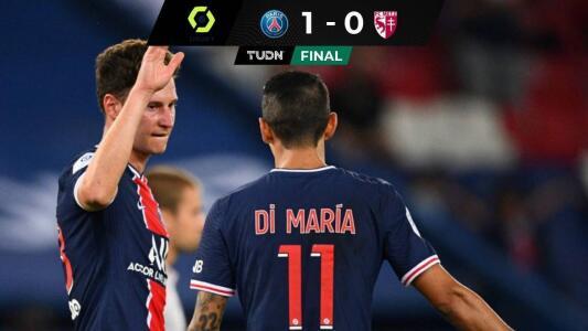 Draxler dio triunfo al PSG en los últimos minutos ante Metz
