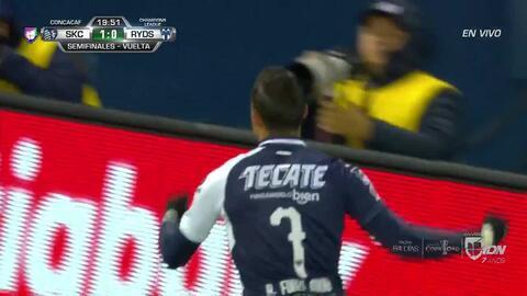 ¡GOOOL! Rogelio Funes Mori anota para Monterrey