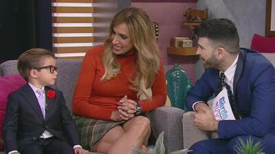 Te derretirás de ternura con la entrevista de Lili al niño que se hizo famoso al ser alzado por Luis Miguel