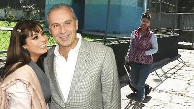 Con maleta en mano, Yadhira Carrillo visita a su esposo y responde a la posibilidad de una libertad condicional