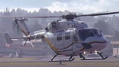 Deja tres muertos un accidente en helicóptero en Ecuador