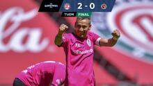 Resumen | Toluca domina 2-0 a Xolos con un Sambueza espectacular