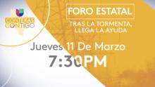 Cómo recibir ayuda: FEMA contestará todas tus preguntas en foro estatal de Univision