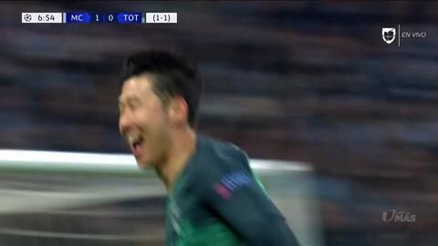 ¡GOOOL! Son Heung-Min anota para Tottenham Hotspur