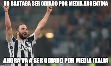 Memelogía | 'Pipita' Higuaín llega a Milán y una vida entre memes no se olvida de él