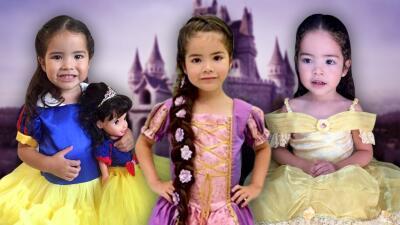 Magia, cuentos y moda: mira a Giulietta disfrazada de princesa desde sus primeros meses de nacida