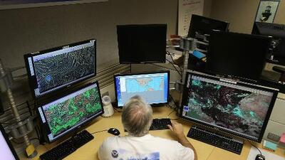 En el condado Harris se preparan para los efectos que puede dejar el sistema que se fortalece en el Golfo de México