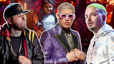 Bad Bunny, J Balvin, Nicky Jam y Calibre 50 triunfan en los premios iHeart Radio Music 2019