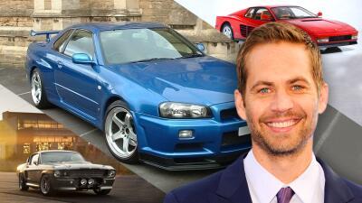 Tributo a Paul Walker en su cumpleaños: así era su rápida y furiosa colección de carros