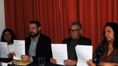"Periodistas e intelectuales a Peña Nieto: ""Señor Presidente, no debe haber más asesinatos"""