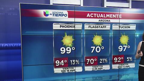 Altas temperaturas, normales en esta época del año