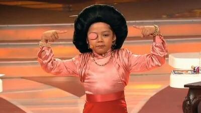 No sería tierna ni con cinco años, mira la versión que hizo 'Telesa' de Catalina Creel