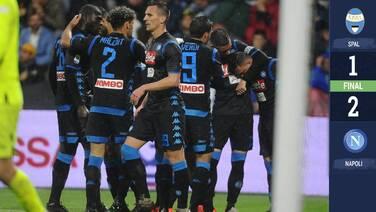 El Napoli amarra el segundo puesto de la Serie A y el boleto a la Champions League