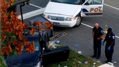 Reporte especial desde Washington, D.C.: Mujer posible sospechosa