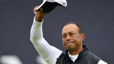 Tiger Woods eliminado del Abierto Británico