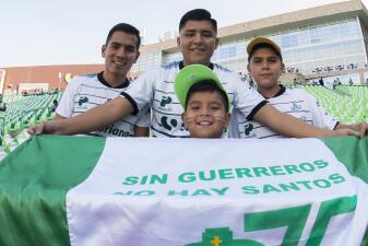 Así se calienta la fiesta: Santos vs. Toluca en la final del Clausura 2018