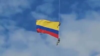 Militar que murió tras caer de la bandera de Colombia le dijo a su esposa que no quería participar en esa misión