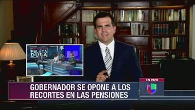 Rosselló hizo un acercamiento a la Junta con la reforma laboral y la Junta demostró ser intransigente