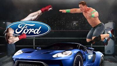Ford derrotó a John Cena sin entrar ni a una corte ni a un cuadrilátero
