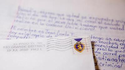 Una carta a puño y letra describe el dramático relato de un inmigrante preso que busca asilo