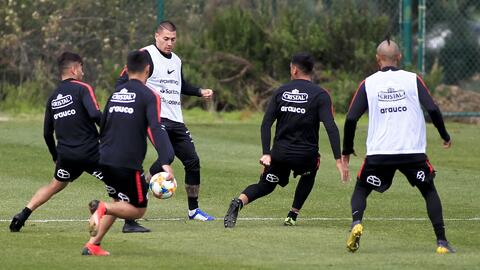 Jugadores de Chile llegarán con muy buen ritmo de competencia a enfrentar a México
