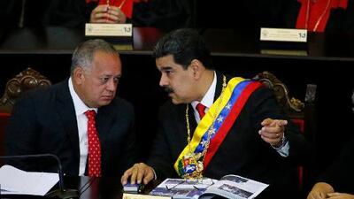 Estados Unidos establece contactos con Diosdado Cabello, el segundo hombre fuerte del régimen venezolano, según AP