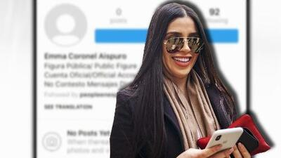 La esposa de 'El Chapo' borró sus fotos de Instagram, ¿realmente se molestó o es una estrategia?