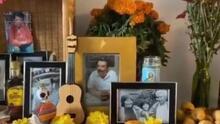 """""""No dudo que ahorita está cantando unas rancheras"""": joven perdió a su padre por coronavirus y lo recuerda a través de su ofrenda de Día de Muertos"""