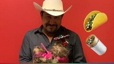 Sopes, chelas y carne asada: El Feo se siente orgulloso de ser mexicano