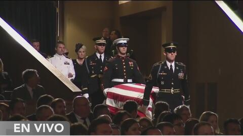 Lo último de la despedida de John McCain en Arizona