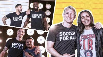 """El fútbol es para todos, MLS lanza su campaña """"Soccer for All"""" en contra de la discriminación"""