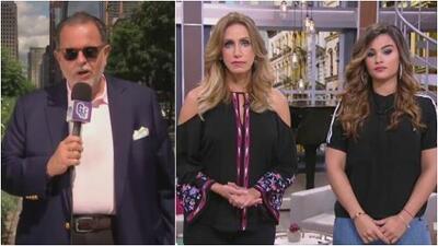 Raúl, Lili y Clarissa expresaron su tristeza y preocupación por el temblor en México y el huracán Irma