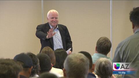 Así le dirá adiós Arizona a John McCain